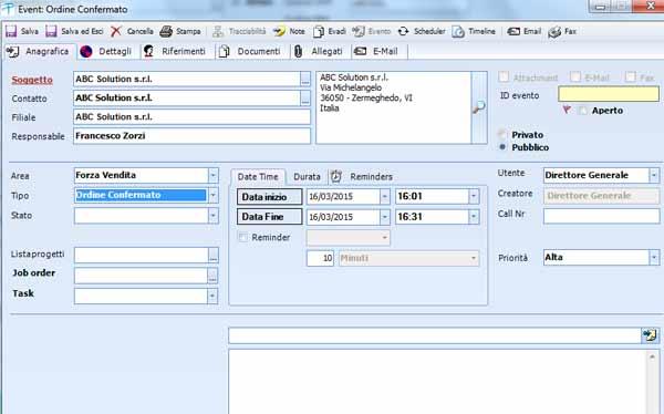 MAINTSOFT - Soluzioni Gestionali - CRM Player